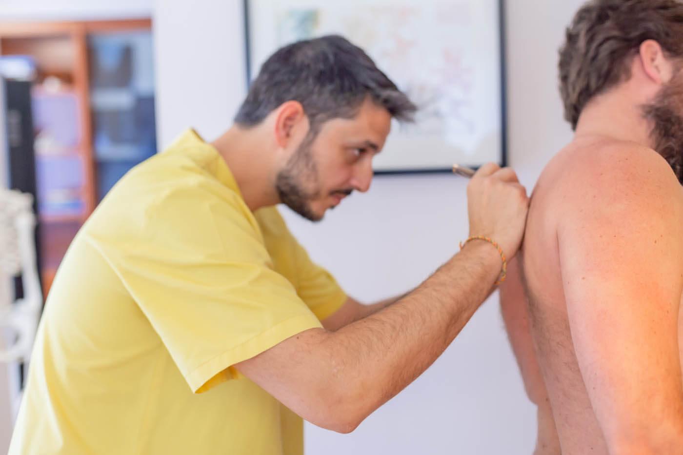 Fisioterapia del dolor de hombro